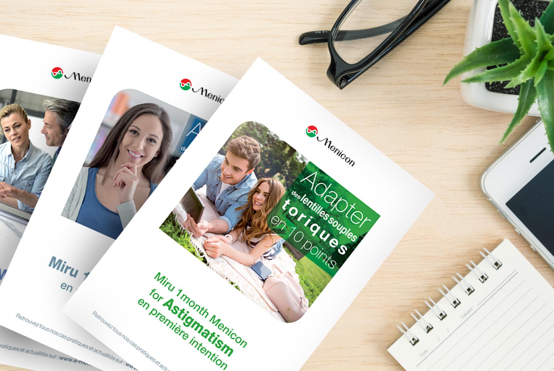 menicon-brochure-miru-agence-communication-et-création-graphique-quelque-chose-en-plus