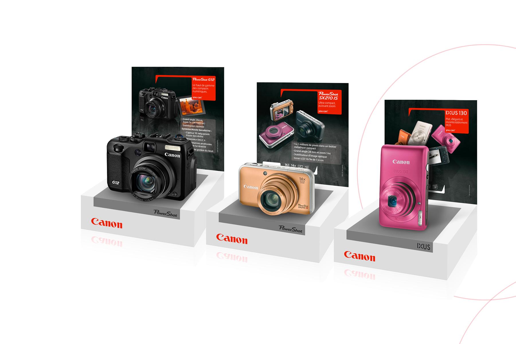 canon-appareil-photo-plv-agence-communication-et-création-graphique-quelque-chose-en-plus